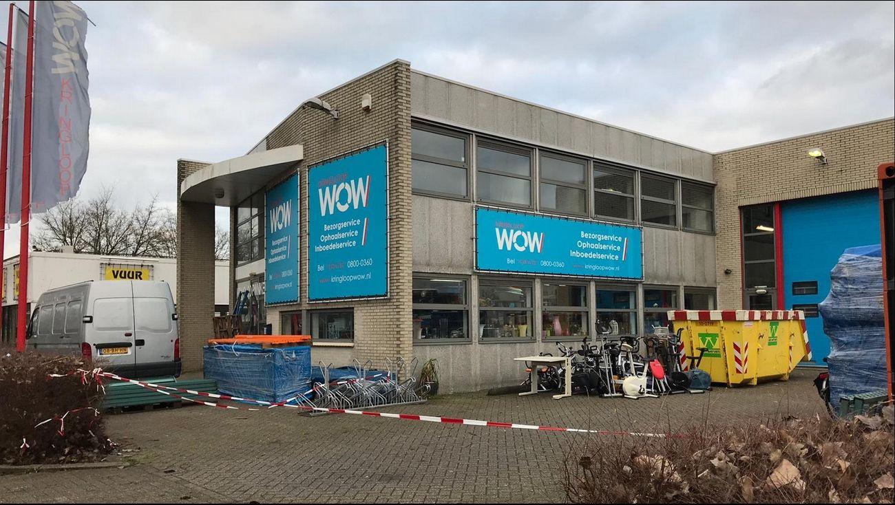 omroep flevoland - nieuws - kringloopwinkel op last van burgemeester
