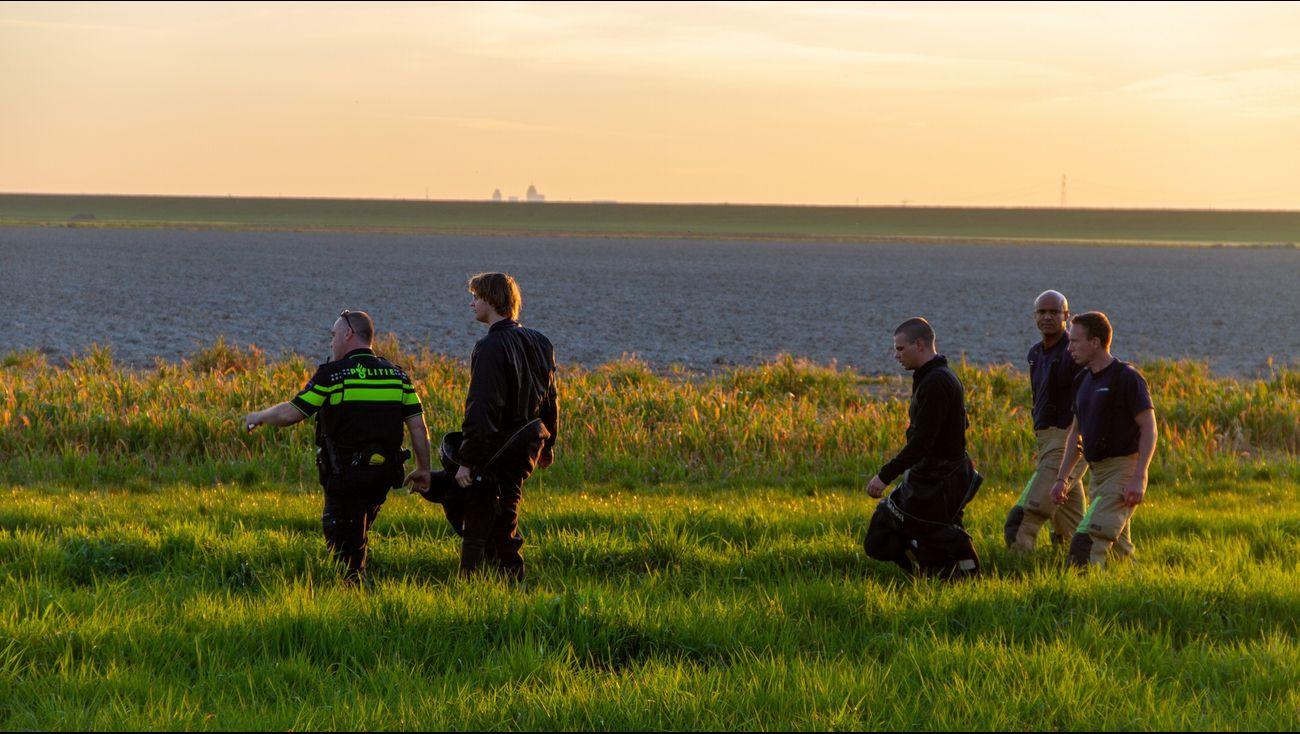 Politie bedankt man die met drone gewonde motorrijder vond.
